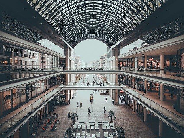 nákup v Berlíně
