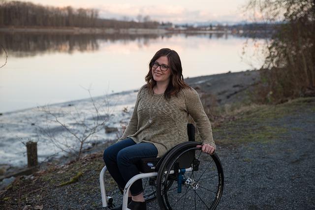 invalidní žena