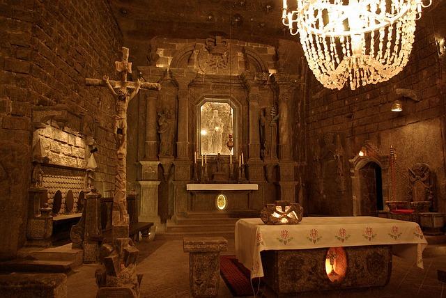 podzemní oltář