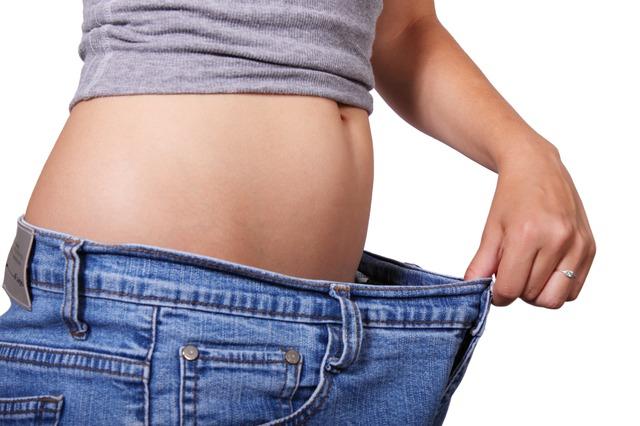 žena, který zhubla