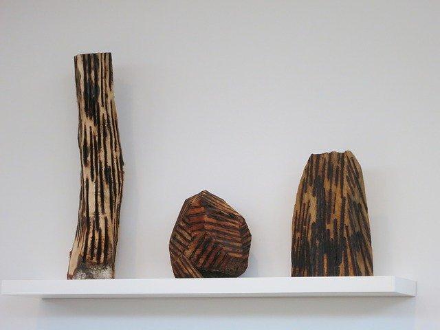 nevšední dřevěné dekorace