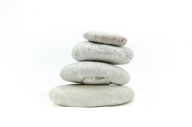 dekorace z kamenů