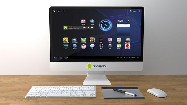 monitor s klávesnicí