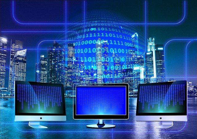 monitory a binární kód