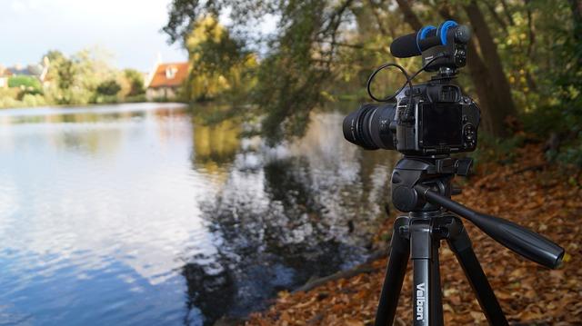 nastavená kamera
