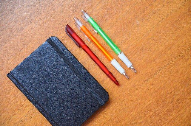 notepad a propisky