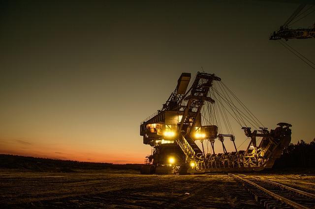 důlní rypadlo