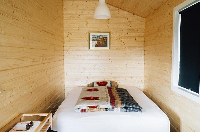 mini ložnice