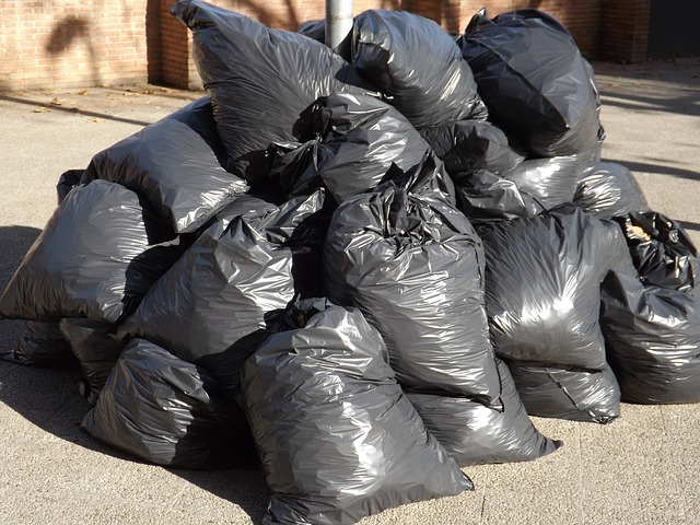 pytle s odpadky