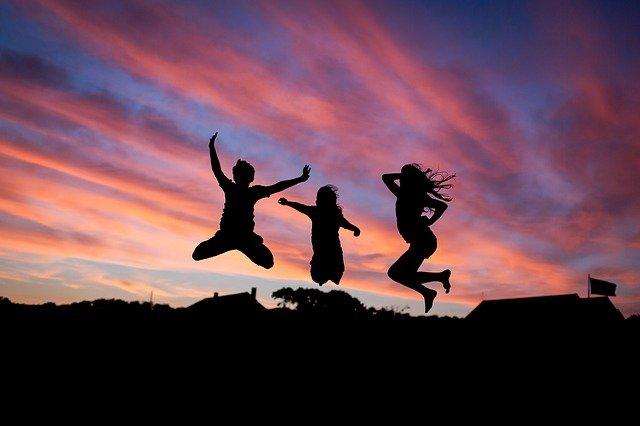 Skákání je zábavné a zdravé!