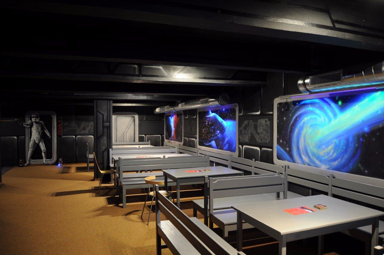 Výlet za laser game
