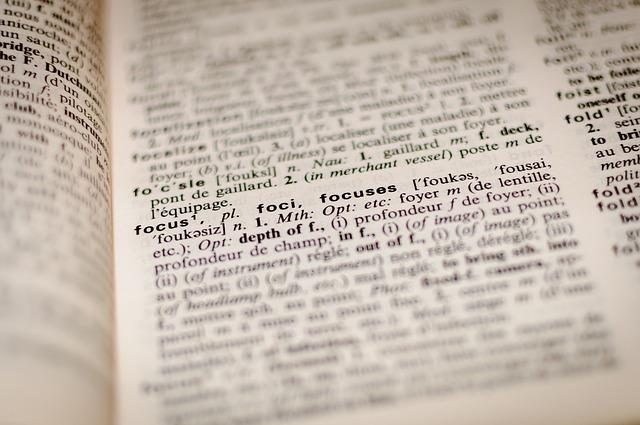 část slovníku