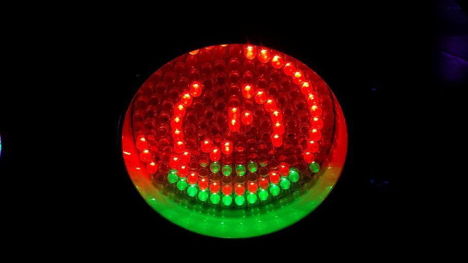 barevná LEDka
