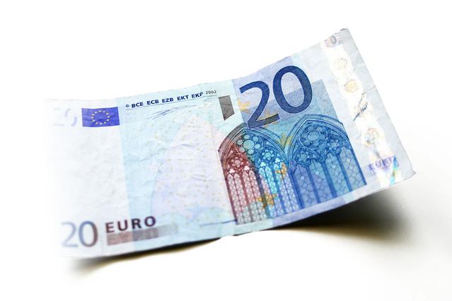 bankovka – 20 euro