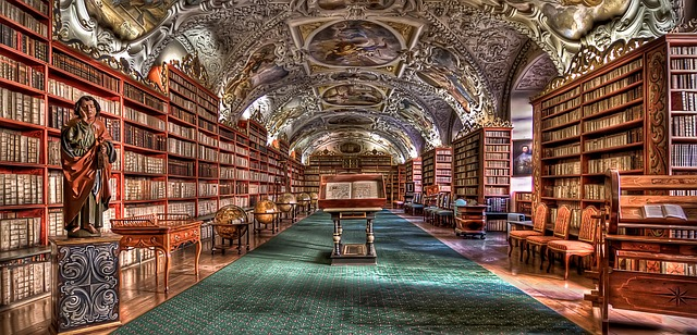 pražská historická knihovna