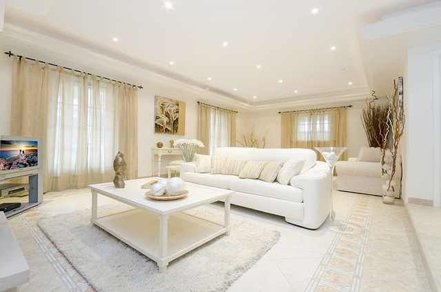 Barvy v obýváku