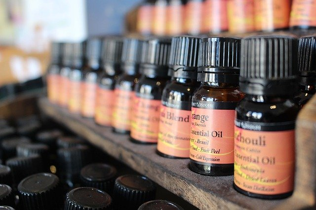 příprava olejů na masáž